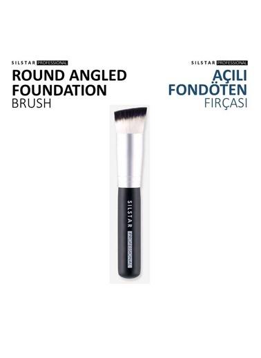 Silstar Roundangled Foundation-Açılı Fondöten Fırça Renksiz